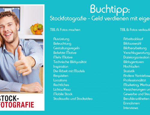 Buchtipp: Stockfotografie – Geld verdienen mit eigenen Fotos