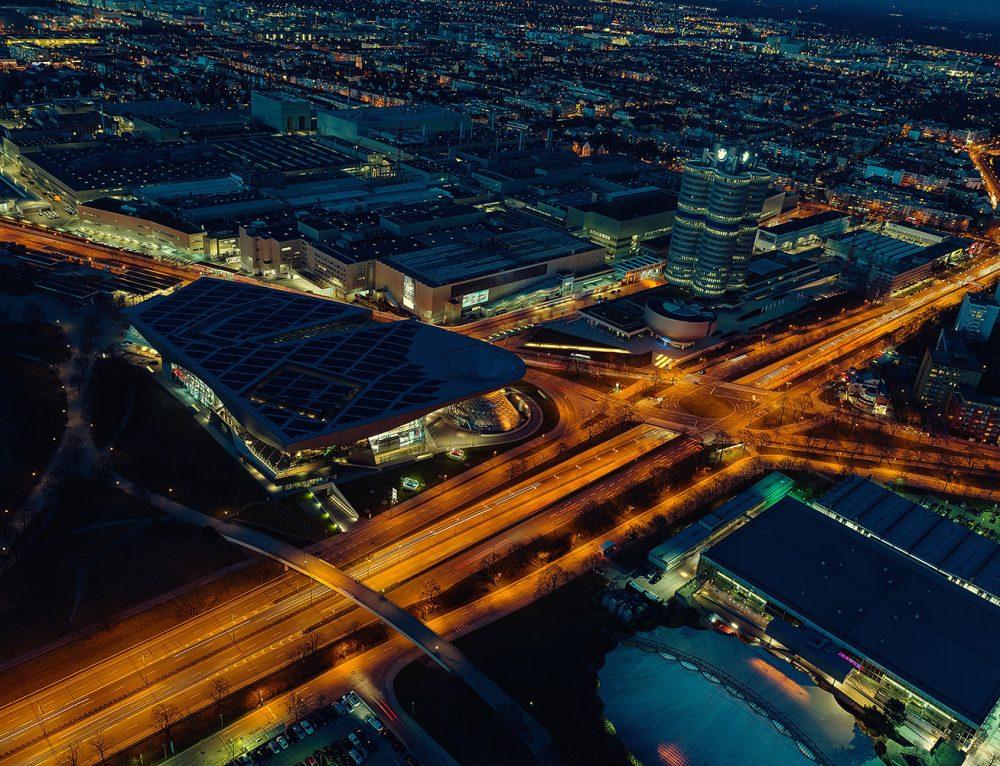 München bei Nacht – Fotos