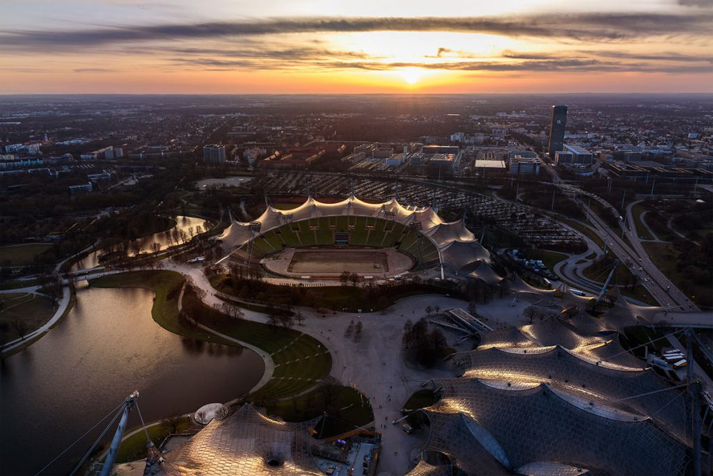 München Foto Olympiaturm