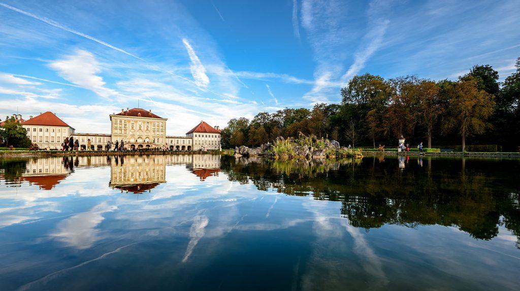 Schöne Orte München Schloss Nymphenburg