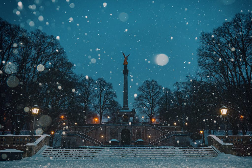 München Fotospots Winter