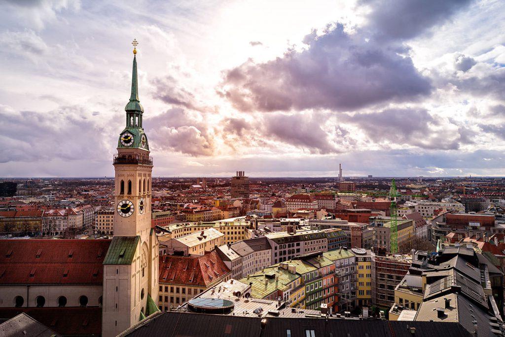 Schöne Orte München Peterskirche
