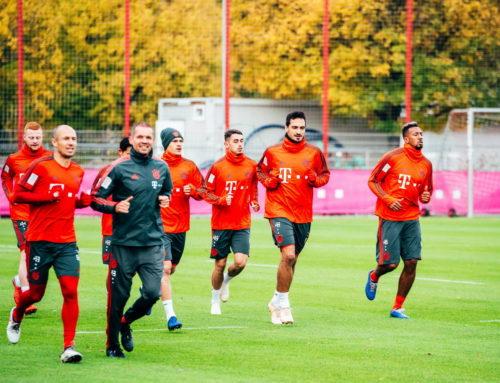 Fotospot FC Bayern München Training