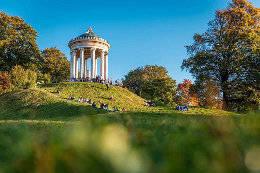 München Fotospots Englischer Garten
