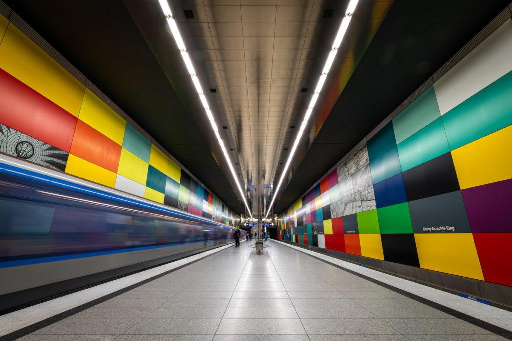 Fotografie U-Bahn München