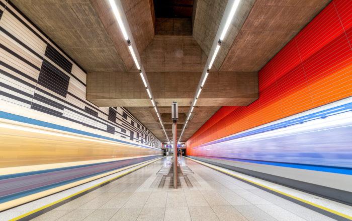 München U-Bahn-Fotos