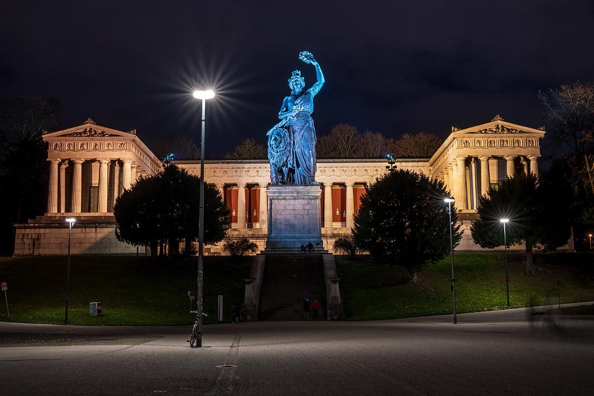 Fotospots München bei Nacht