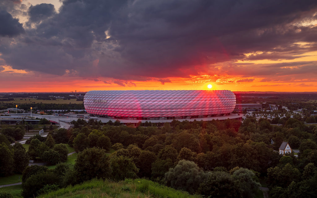 München Fotolocation Allianz Arena
